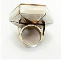 Anel Lodolita cravado em Prata 950 2